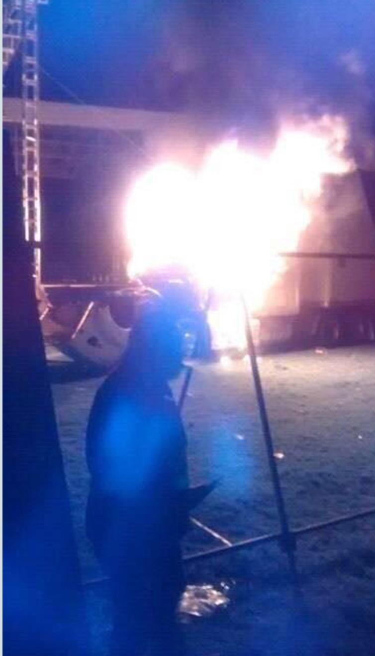 """Disturbios en Hidalgo por cancelación del """"Komander"""""""