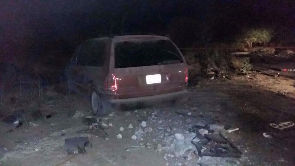 Cuatro sujetos asaltaron gasolinera en la 45 norte