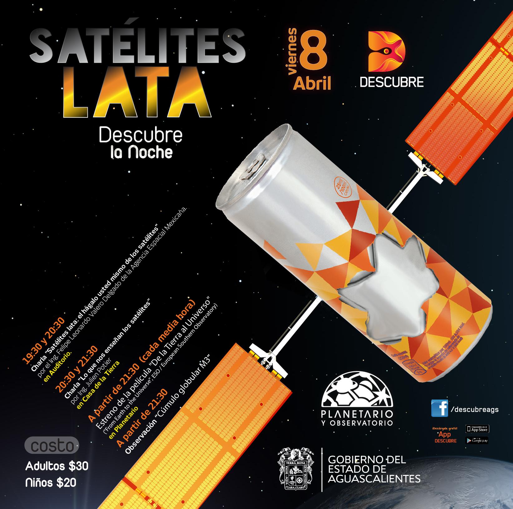 """En el Museo Descubre enseñarán cómo hacer un satelite """"casero"""""""