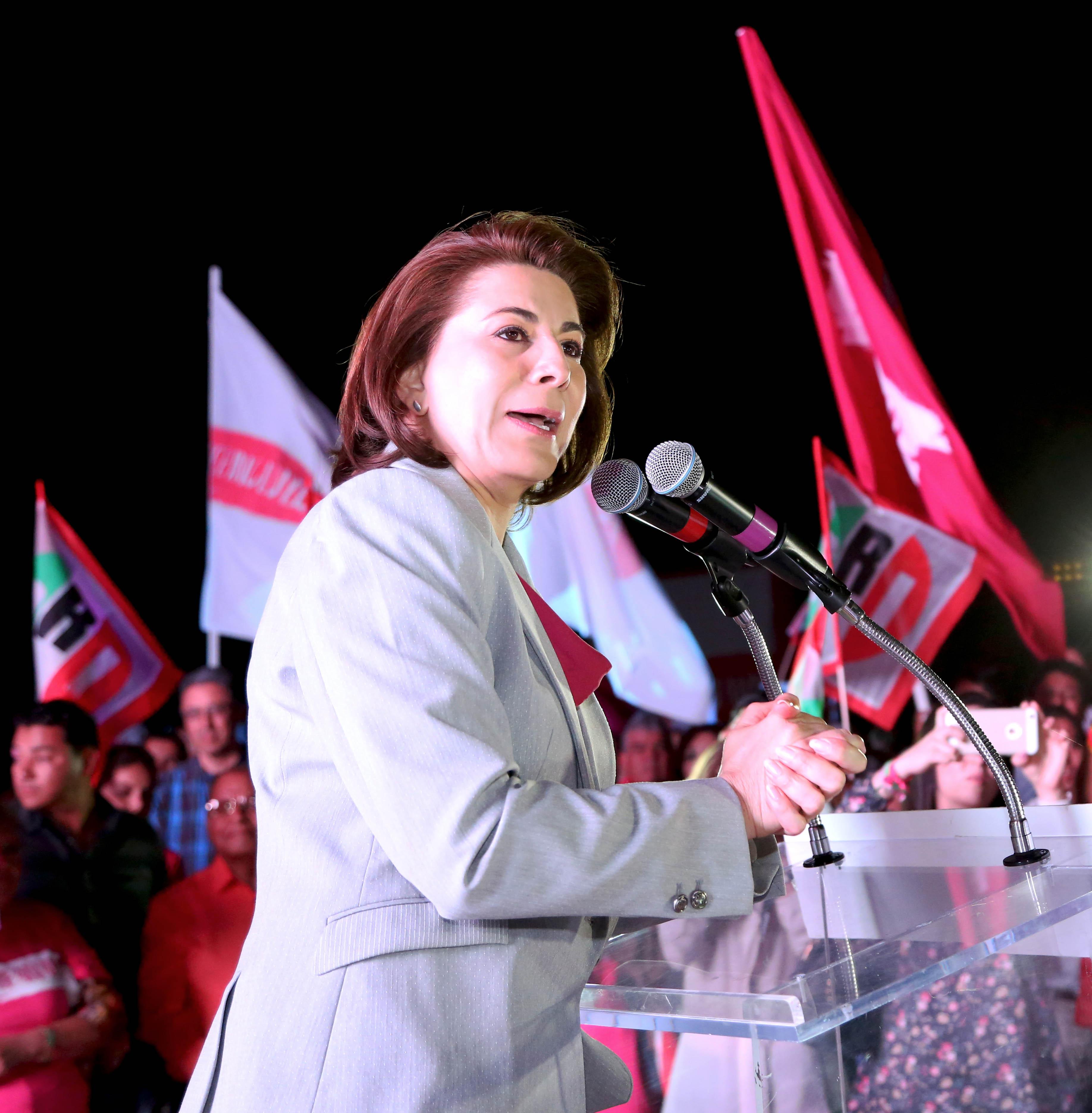Lorena Martínez convence en el debate