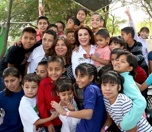 Asegura Lorena Martínez que cuenta con las propuestas más viables