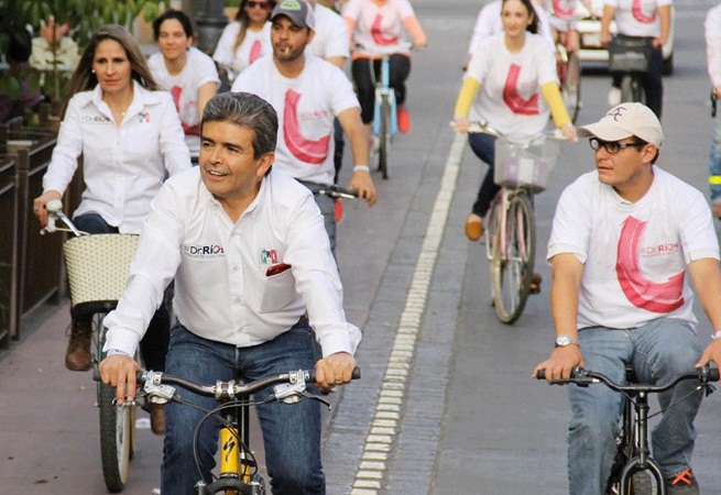 Durante mi trienio impulsaremos el uso de la bicicleta en Ags: Dr. Ríos Alba