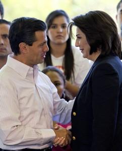 CEN del PRI defiende a Lorena Martínez por estar contra EPN