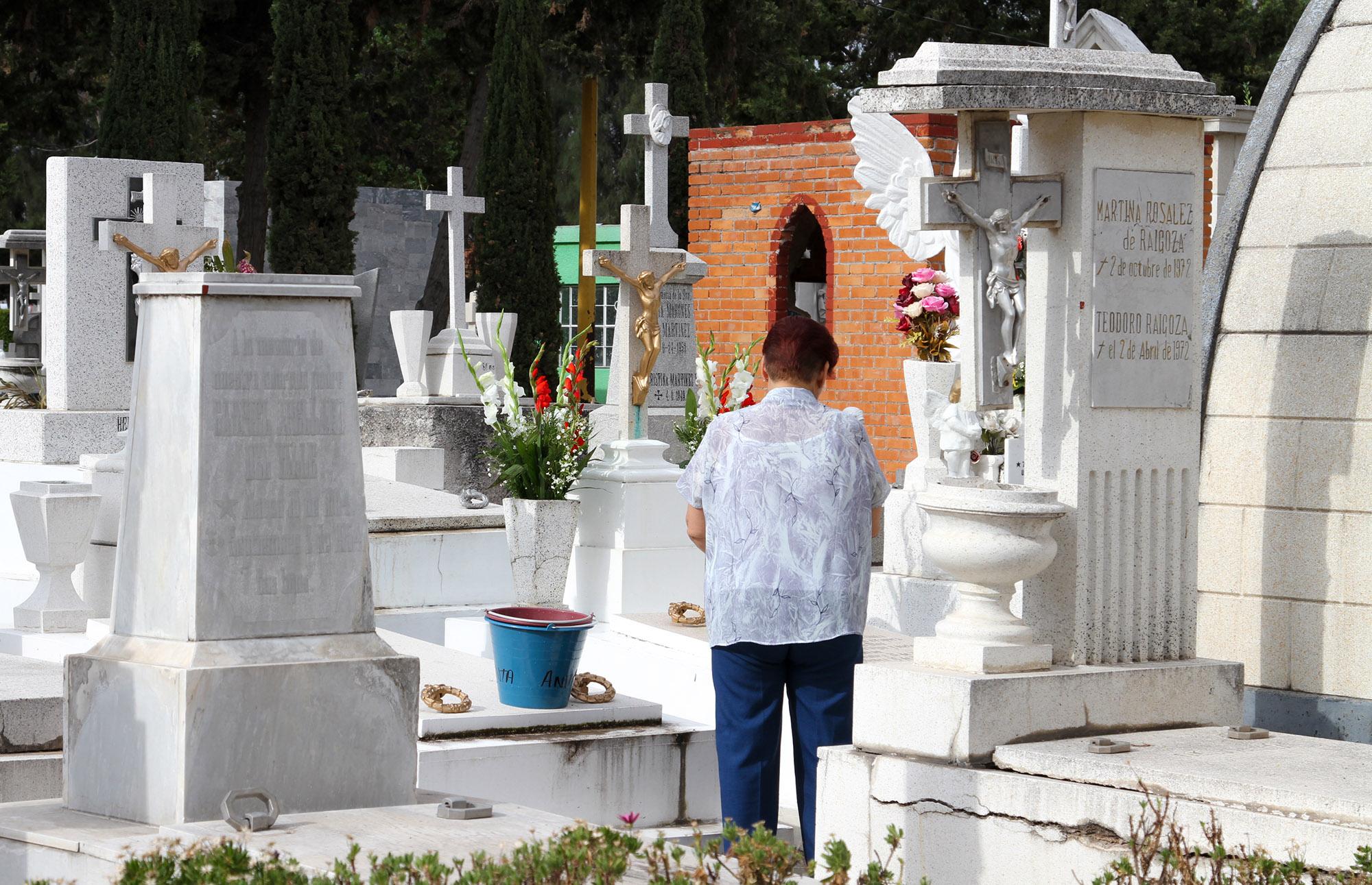 Vigila @municipioags panteones por Día de las Madres