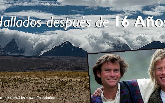 Murieron en una avalancha en 1999 y sus cuerpos acaban de ser encontrados