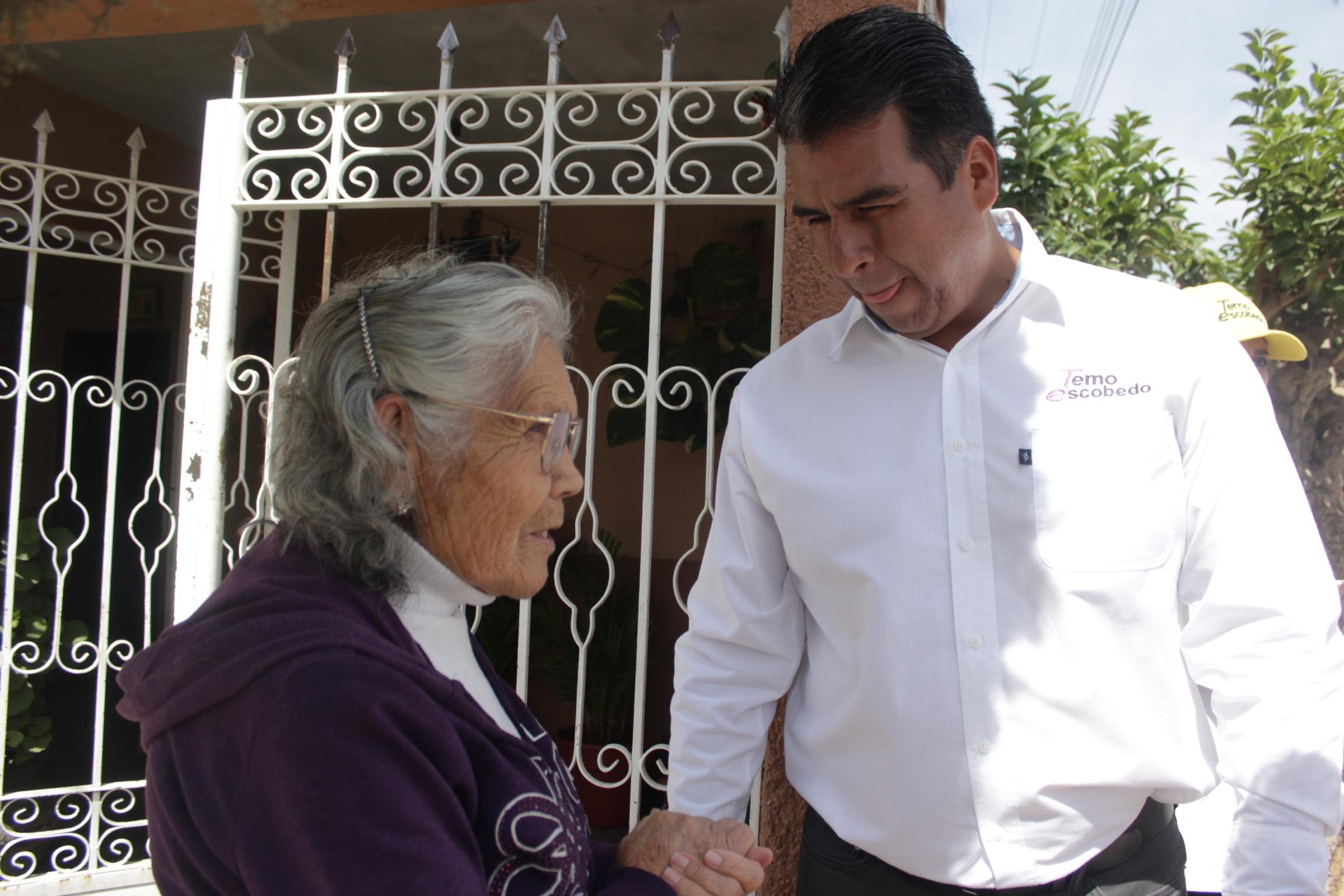 Con foros por colonia, Temo Escobedo recoge las inquietudes ciudadanas de Pabellón