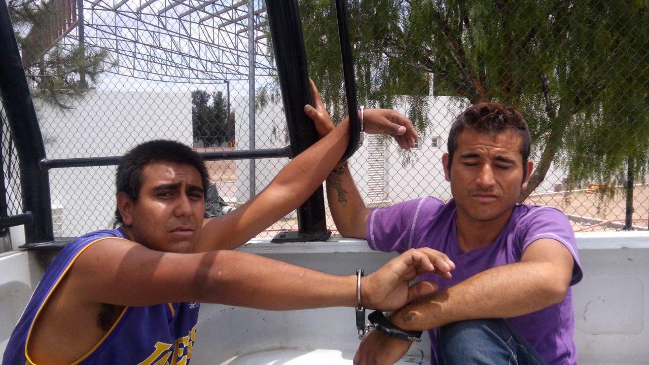 Tras persecución logran la captura de dos ladrones de moto