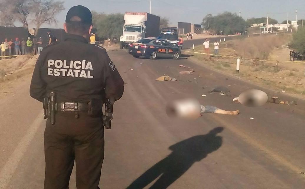 Ya fueron identificados los motociclistas muertos por alcoholizado chofer