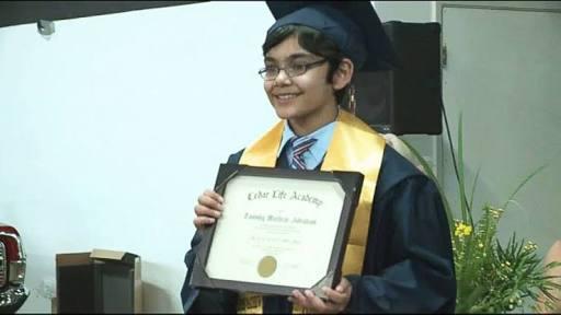 Tiene 12 años y ya tiene 3 títulos universitarios