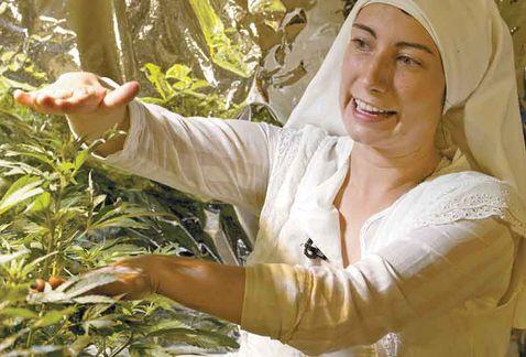 Mientras México lo piensa, en EU monjas comercian la mariguana