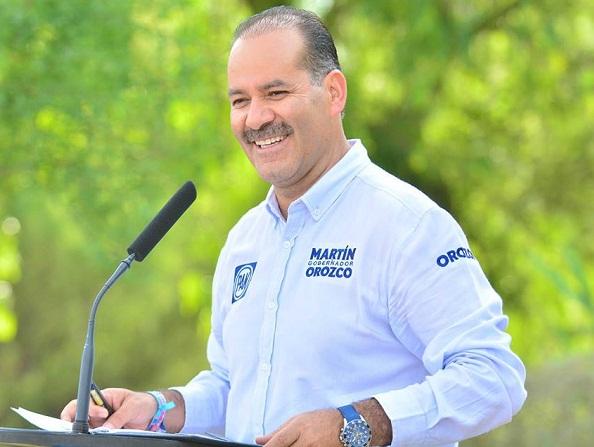 Reconoce MC a Martín Orozco como gobernador electo de Ags