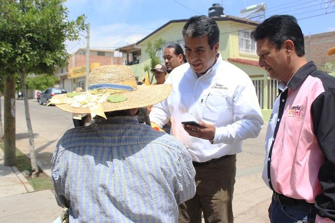Estudia Temo Escobedo reelegirse como alcalde en Pabellón de Arteaga