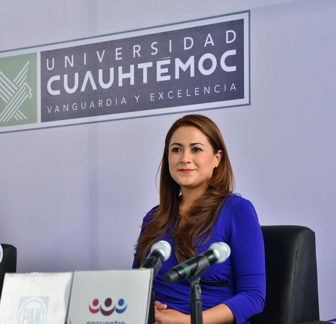 Tere Jiménez demostró propuestas contundentes en el debate de la COPARMEX
