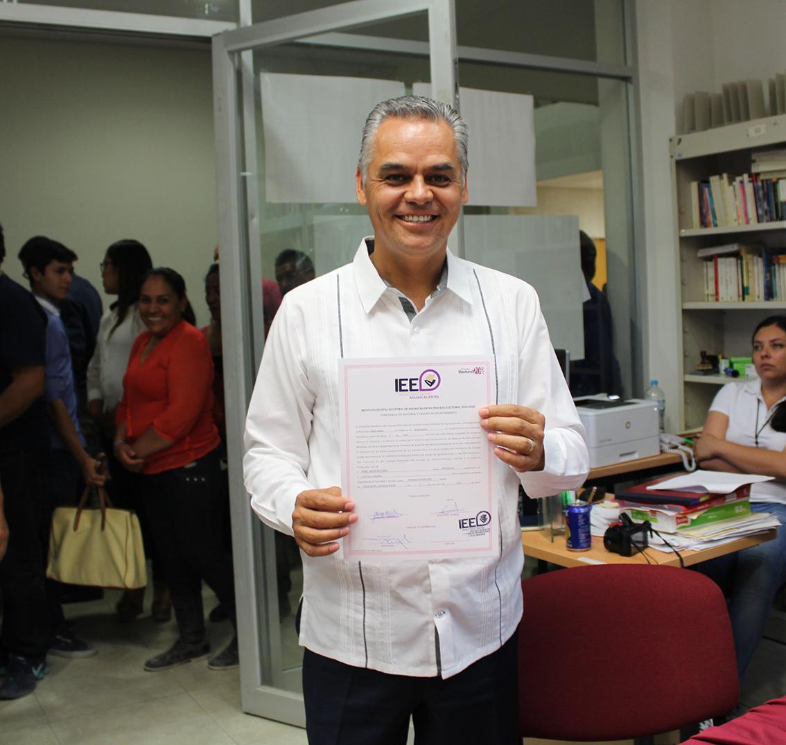 Noel Mata ya es alcalde electo de Jesús María