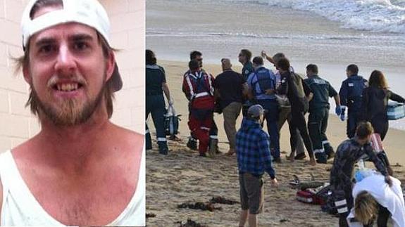Surfista pierde pierna tras ataque de tiburón