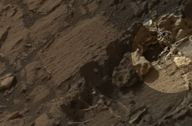 Encuentran el esqueleto de un rey en la superficie de Marte