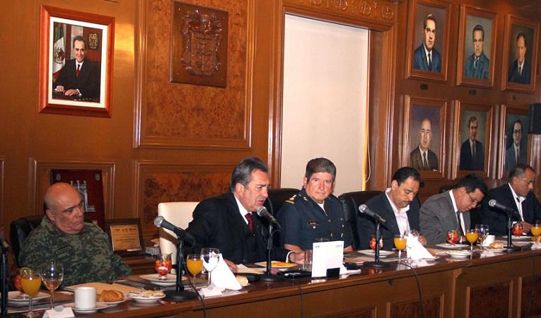 Se realizó nueva reunión del Grupo de Coordinación de Seguridad en Ags.