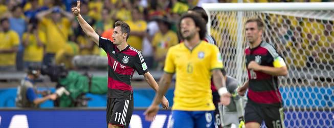 Histórica paliza de Alemania a Brasil en final del mundial cumple 2 años