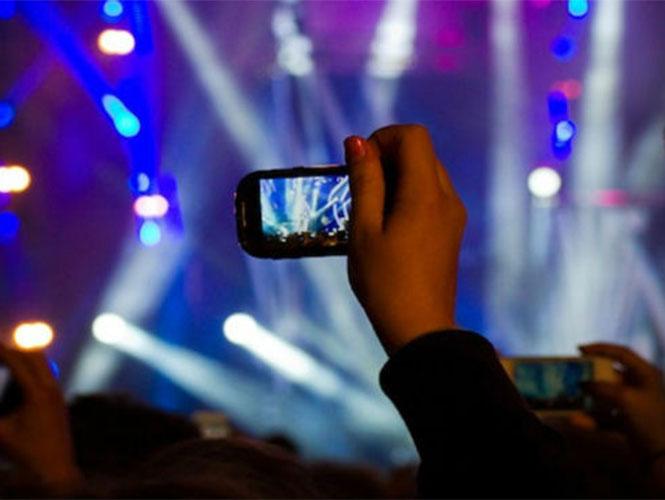 Apple impediría tomar fotos y vídeos en conciertos