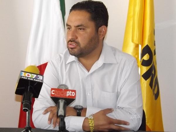 Diputado local del PRI incurrió en actos de corrupción en entrega de apoyos: PRD