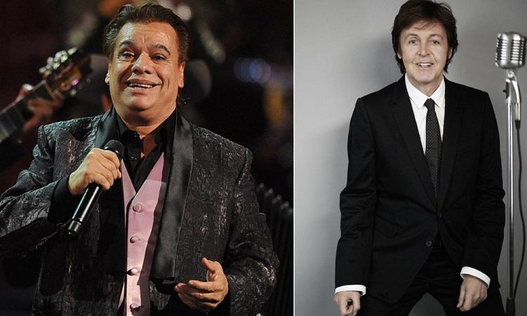 Juan Gabriel quiere hacer un dueto con Paul McCartney