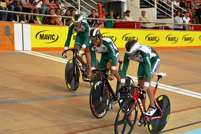 Ciclistas se alistan para nacional de pista en Aguascalientes