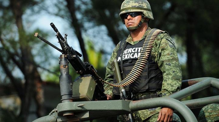 Ejército Mexicano se une a las labores de la Policía Estatal y Municipal