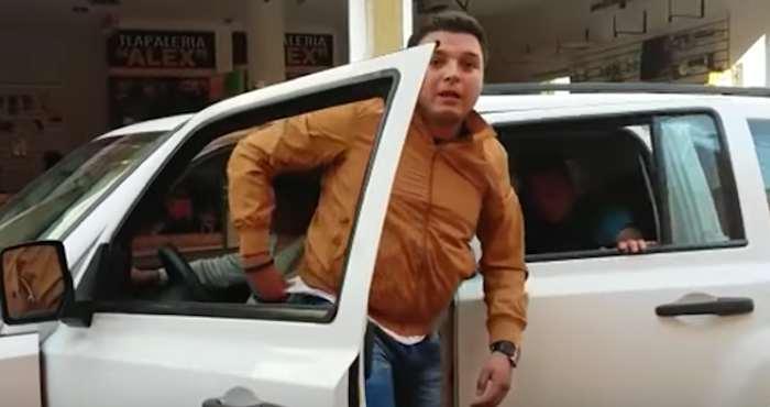 Hijo de un Alcalde en Guanajuato golpea y amenaza a reportero tras la publicación de una nota
