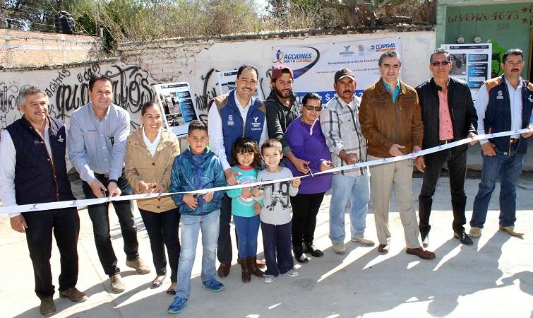 Renovó el MuniAgs infraestructura hidráulica en Calvillito
