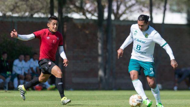 León golea a Necaxa 5 a 2 en amistoso en Aguascalientes