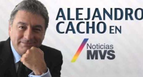 Alejandro Cacho ya no es más conductor en MVS Radio