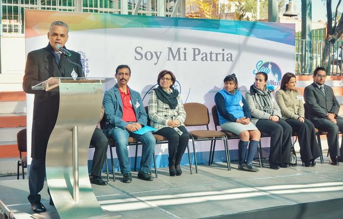 """Inicia programa """"Soy mi Patria"""" para promover valores cívicos en escuelas de Jesús María"""