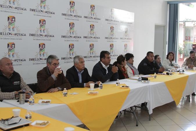 Se instaló el Consejo Ciudadano en Seguridad en Pabellón de Arteaga