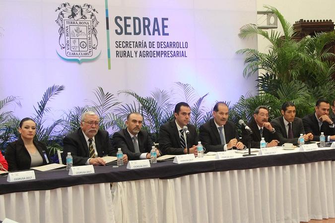 Encabezó MOS sesión del Consejo para el Desarrollo Rural Sustentable de Ags.