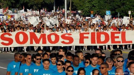 Celebran, sin Fidel, 58 años de Revolución