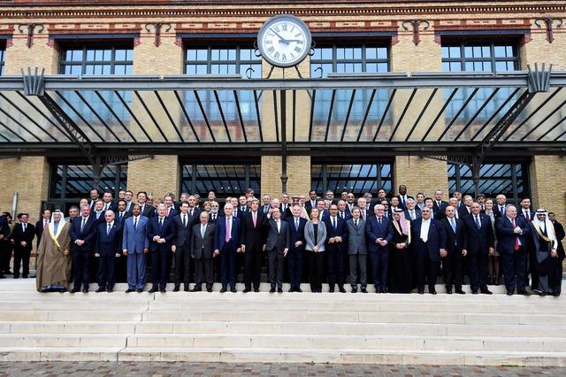 Conferencia de París apoya la creación de 2 Estados para Israel y Palestina