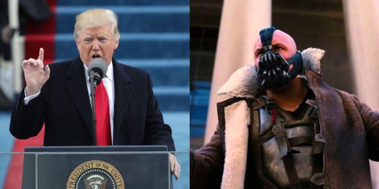 Detectan parecido de discurso de Trump con el de villano de Batman