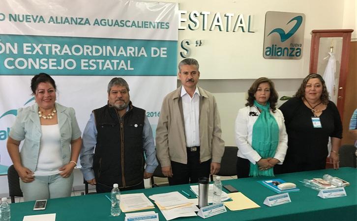 Eduardo Chavarría, nuevo presidente estatal de Nueva Alianza