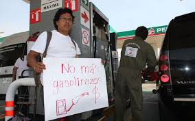 Este domingo nueva marcha contra el gasolinazo en Aguascalientes