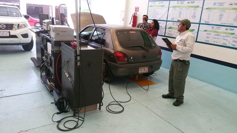 Se verificaron más de 9 mil vehículos durante enero en Aguascalientes