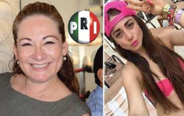 Diputada del PRI le asigna sueldo de secretaria a su hija y la revientan en las redes