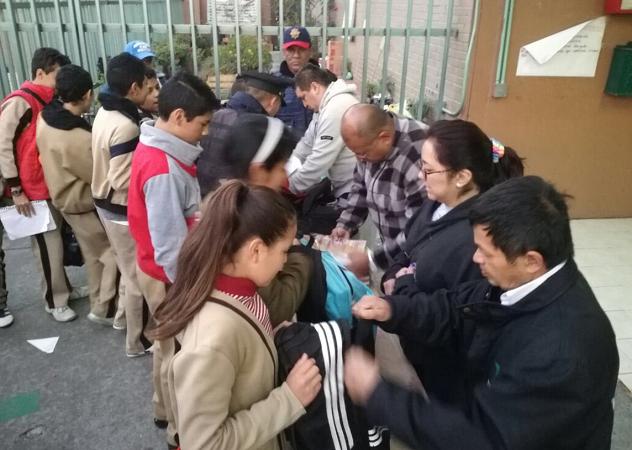 No es la clave contra la inseguridad en las escuelas la Operación Mochila