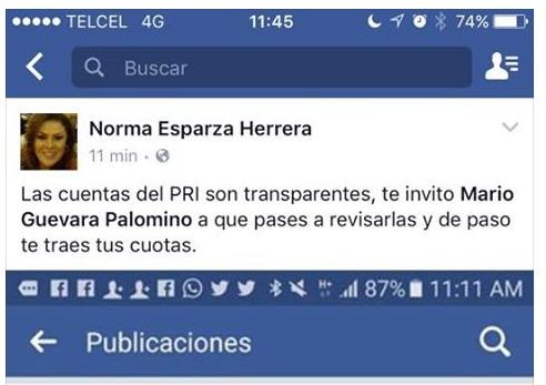 No paran los enfrentamientos públicos en el PRI de Aguascalientes