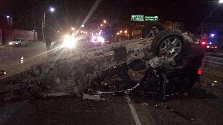 Se accidentan tres árbitros de la LigaMX en Aguascalientes