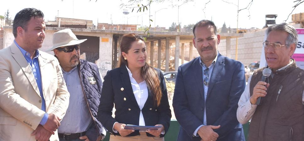 Supervisa Tere Jiménez obras de rehabilitación del Bordo Santa Elena