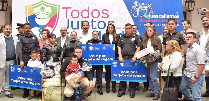 """Retoma el MuniAgs el premio al """"Policía del Mes"""""""
