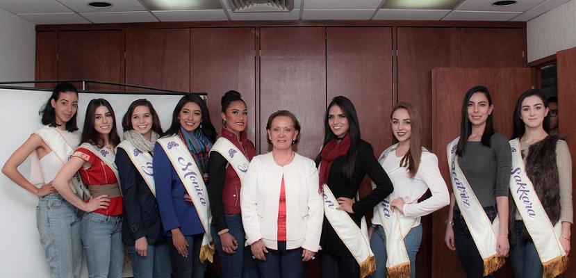 Capacitan a candidatas a reina de la FNSM en el ámbito turístico de Aguascalientes