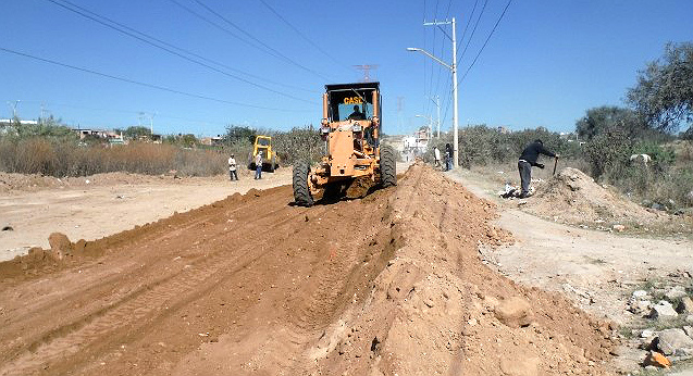 Rehabilita la SICOM más de 54.5 Km de terracerías
