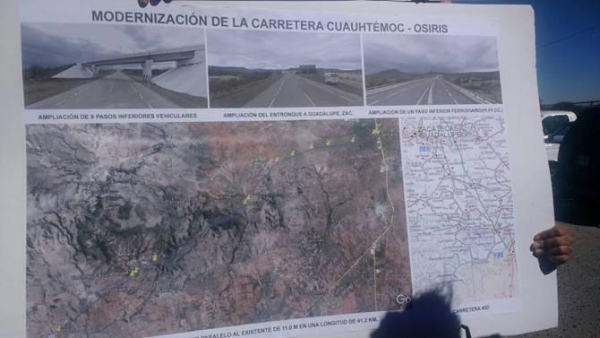 Anuncian ampliación de autopista Aguascalientes-Zacatecas
