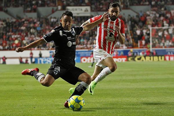 Necaxa y Monterrey se reparten puntos